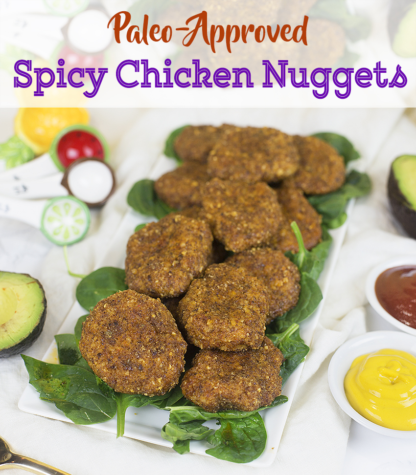 Low Carb Spicy Chicken Nuggets (Paleo Friendly) | Kayla ...