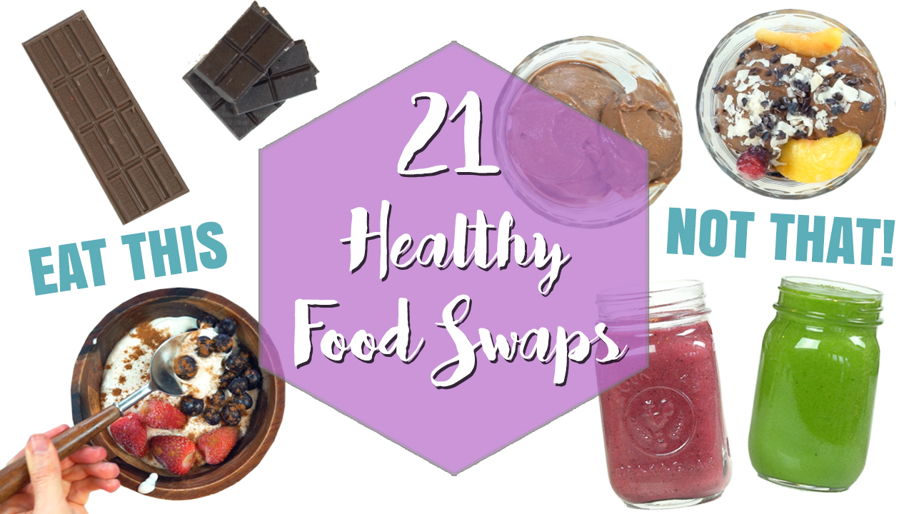 Healthy Food Swaps for Weight Loss
